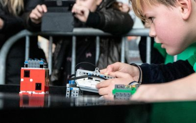 Finale First Lego League een daverend succes